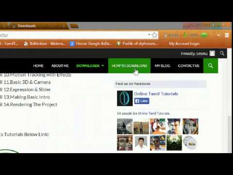 Tamil Tutorials - How to Download ...