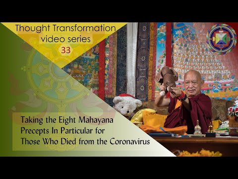 Taking The Eight Mahayana Precepts In Particular For Those Who Died From The Coronavirus