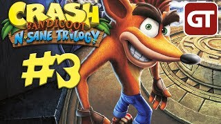 Thumbnail für Let's Play Crash PS4 #3 - Crash N.Sane Trilogy Gameplay Deutsch