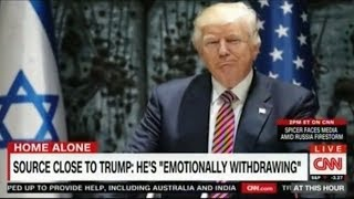 Trump is emotionally withdrawing and glum WH Playing Checkers instead of Chess