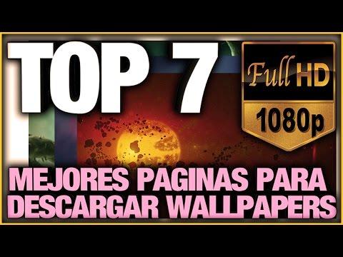 Top 7 Mejores Paginas Web Para Descargar Wallpaper En Hd Youtube