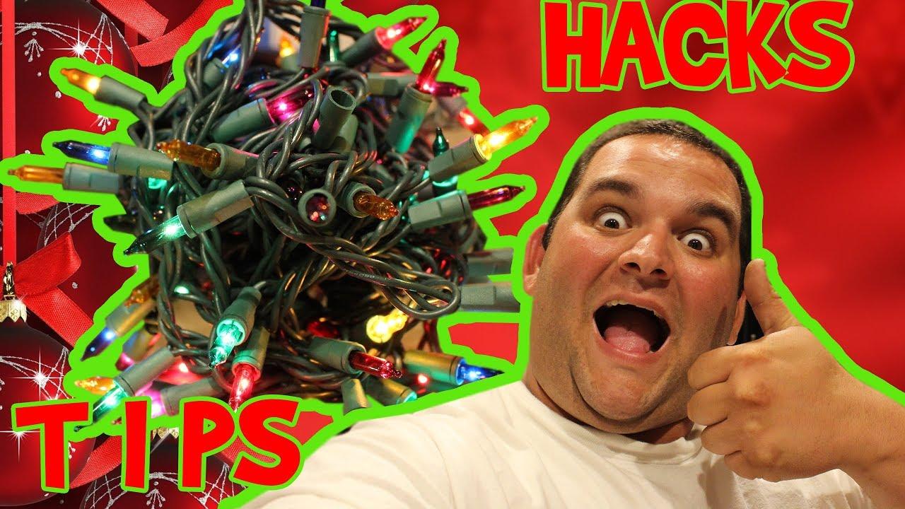 Half lit christmas lights 3 easy hacks on how to fix broken christmas lights
