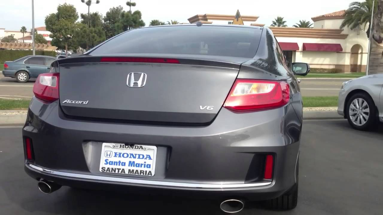 Accord 2013 Coupe >> 2013 Honda accord ex-l v6 accord coupe modern steel metallic - YouTube