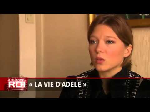 Léa Seydoux,  Adèle Exarchopoulos, and Abdellatif Kechiche   «RDI»