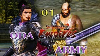 Samurai Warriors 2 Empires: Oda Army 01 Katsuie Shibata Mixed Moveset are Amazing!
