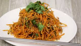 Как готовить корейский салат - Морковча