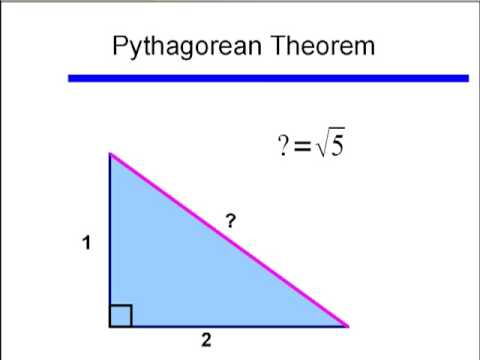 Basic Right Triangle