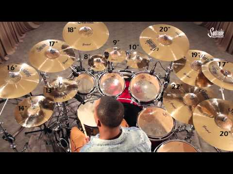 Soultone Cymbals - Gospel Series Demo Video 2013
