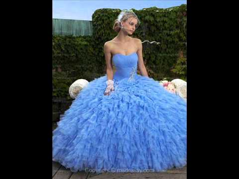 Most Beautiful Ball Gowns and Dresses - YouTube