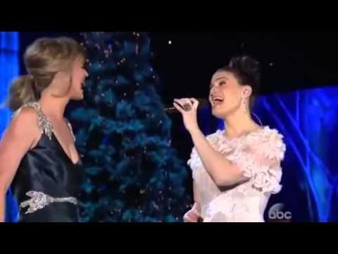 FROZEN - Let It Go - Idina Menzel & Jennifer Nettles - LIVE