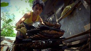 Ang istorya ng batang nag-viral sa social media dahil sa pagtitinda ng daing at tinapa