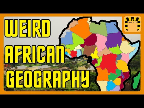 Africa's Truly Strange Geography