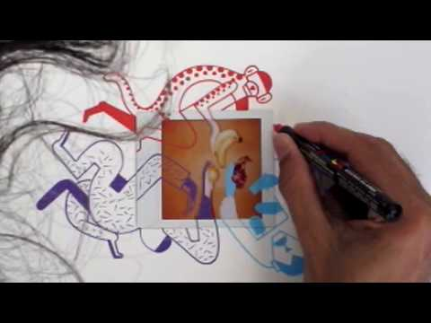 Lomo'Instant Sqaure - Live Illustration with Luca Font