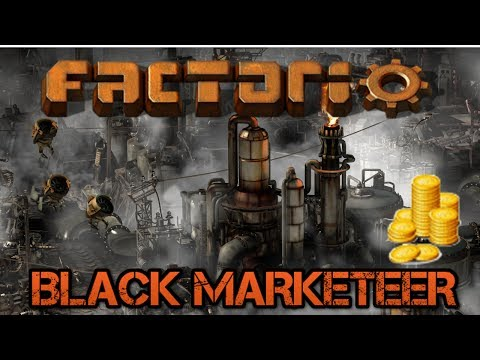 [52] Solid Fuel & Plastic | The Black Marketeer - Modded Factorio