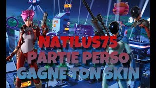 LIVE FORTNITE PART PERSO CONCOURS CREATEUR SKIN TO WIN ALL 100 ABOS WORLD CUP