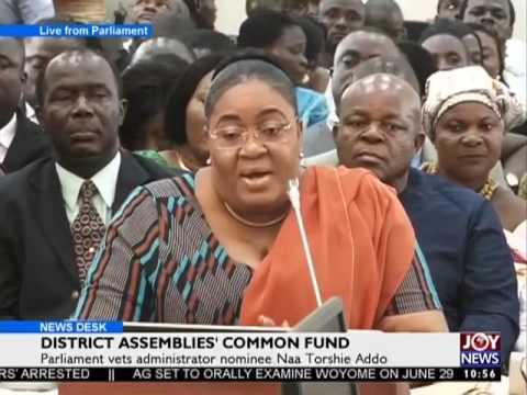 District Assemblies' Common Fund - News Desk on Joy News (20-6-17)