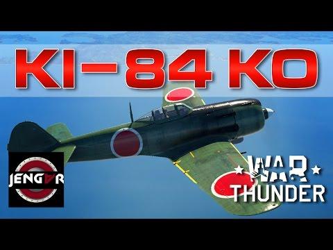 War Thunder Realistic: Ki-84 Ko [5.3 Br Checkup]