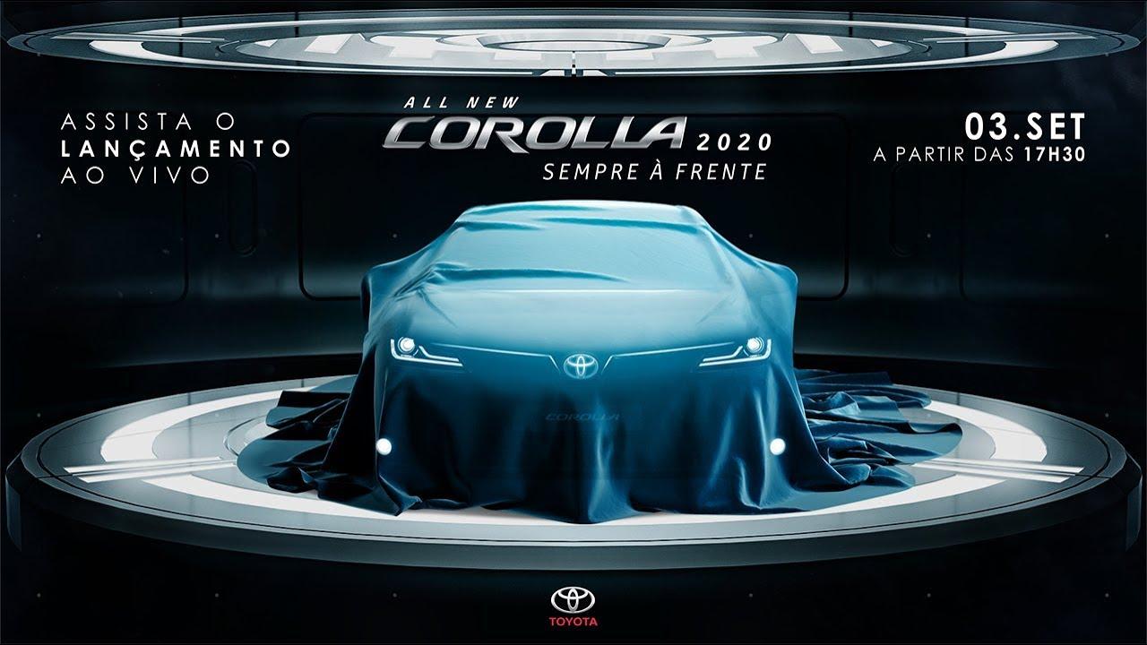 Lançamento ao vivo | All New Corolla 2020