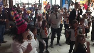 flashmob centre de loisirs Cognac Châteaubernard