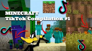 MINECRAFT TikTok Compilation #1 | MINECRAFT RYLLZ