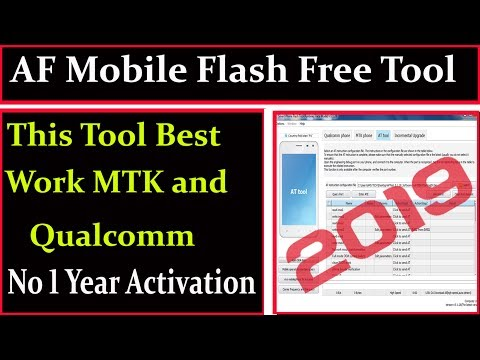 AF Mobile Flash Free Tool 2019 Best Work Mtk And Qualcomm By AMS TECH