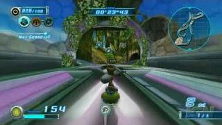 Sonic Riders: Zero Gravity Nintendo Wii Gameplay -