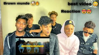 BROWN MUNDE | AP Dhillon, Gminxr, Gurinder Gill & Shinda Kahlon *Reaction*