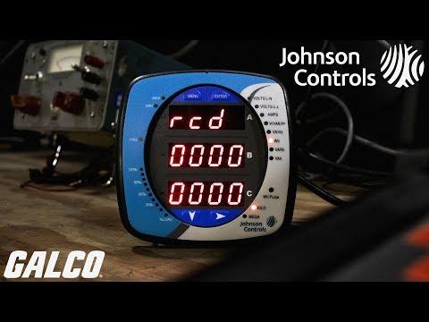 Johnson Controls EM-1000 Power & Energy Meters Series Digital Panel Meter