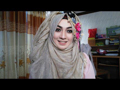 Easy Hijab Style with Dupatta/ Orna Eid Special | Pari ZaaD ❤
