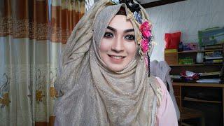 Easy Hijab Style with Dupatta/ Orna Eid Special | Pari ZaaD