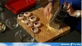 Шампиньоны, фаршированные перепелиными яйцами от Ольги Баклановой (Вся Соль)