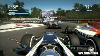 F1 2012 Demo Gameplay X360