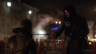 Стрела против Рас-аль-Гула полный бой / Final Boss Fight (Стрела 3 сезон)