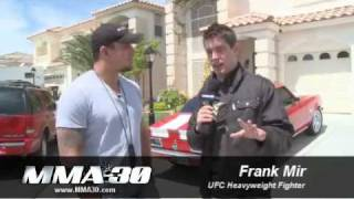 MMA:30 - Frank Mir wants to fight Anderson Silva