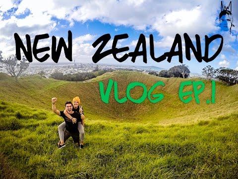Auckland   Piha Beach   Mount Eden   Kite Kite Falls: Kinging-It New Zealand - Weekly Vlog Ep. 1
