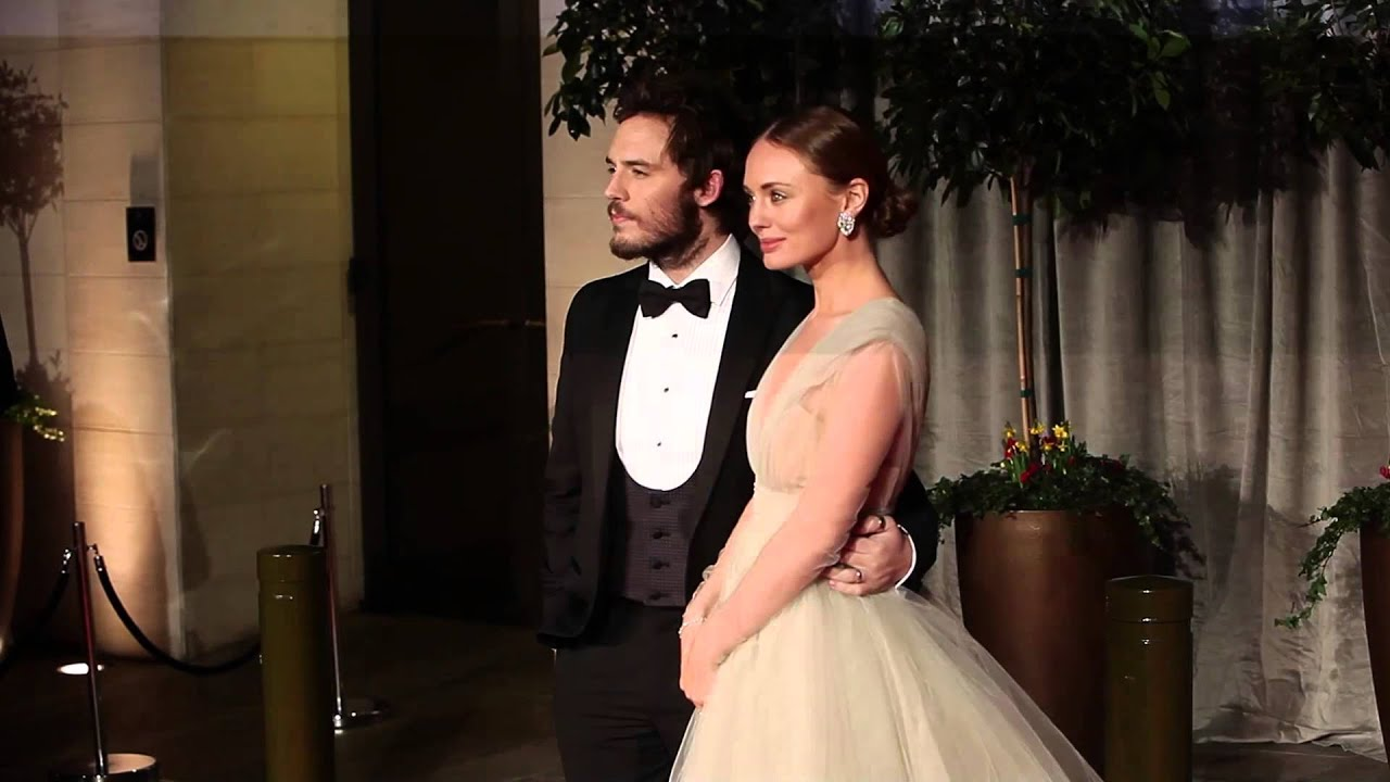 sam claflin and laura haddock arrive at the baftas after