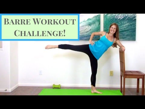 Barre Workout Pilates & Barre Exercises for Home