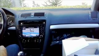 How to install Navigation Skoda Octavia 2 (2009-2013)