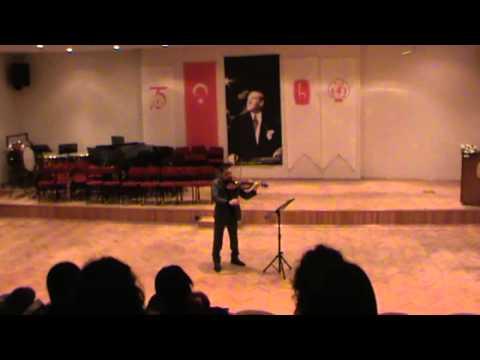 Marco Misciagna, viola solo - Concert in Ankara
