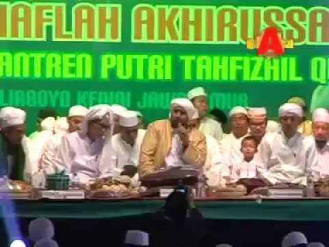 Robbi Kholak Thoha Minnur (2 Versi Antal Amin) Gus Wahid Ft Habib Syech (Lirboyo Bersholawat)