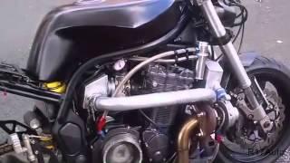 тест драйв tuning Suzuki Bandit turbo
