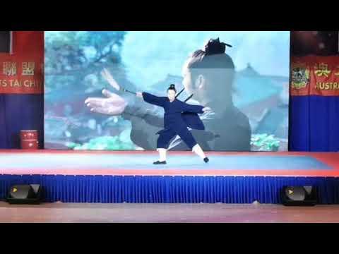 奥大利亚国际武术节闭幕式:名家表演管永星