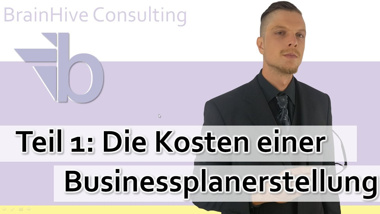 1 businessplan erstellen lassen kosten was kostet ein businessplan youtube. Black Bedroom Furniture Sets. Home Design Ideas