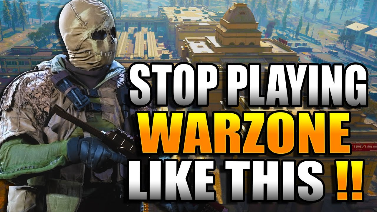 What NOT To Do in WARZONE! Get BETTER at WARZONE! Warzone Tips! (Warzone Training)