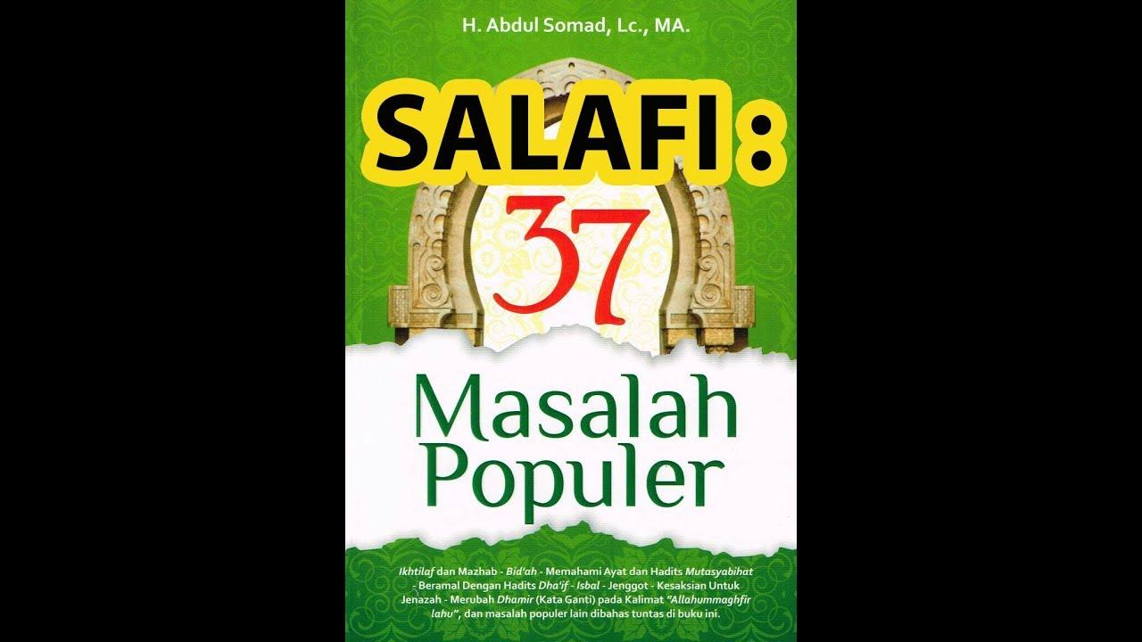 37 Masalah Populer Abdul Somad Pdf