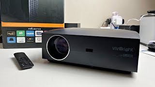 VIVIBRIGHT F30UP Native 1080p LED Video Projector - 4200 LUMENS - Under £200