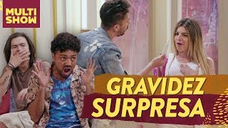 A GRAVIDEZ SURPRESA de Jennyfer Os Roni Estreia Humor Multishow