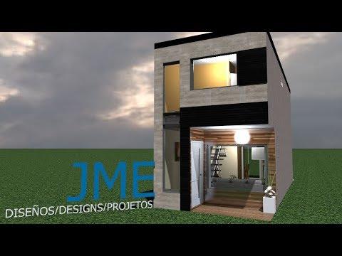 Casa 3,50x10 Mts / House 3,50 x  10 Mts