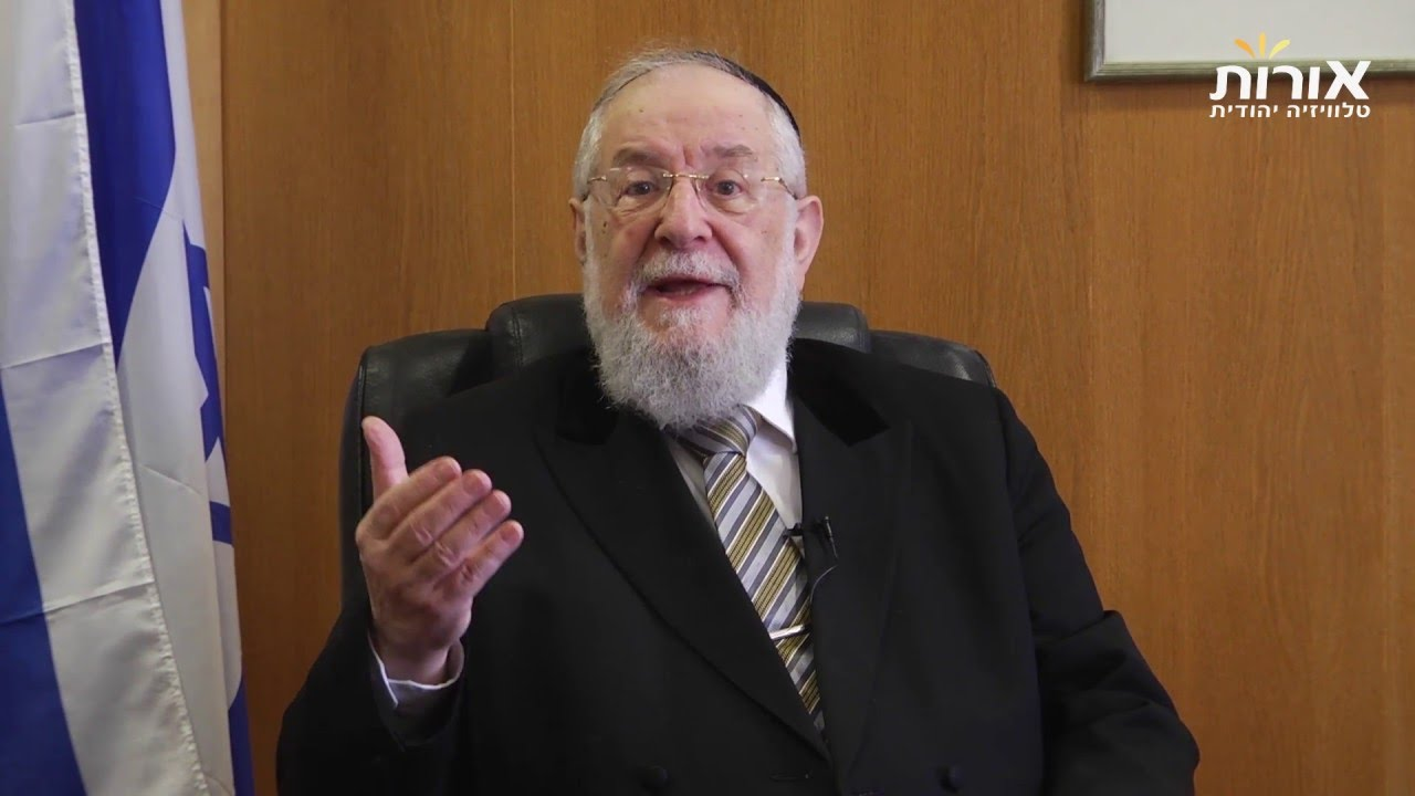 When the urge to power leads to disaster - Rabbi Lau on Parashat Shemini