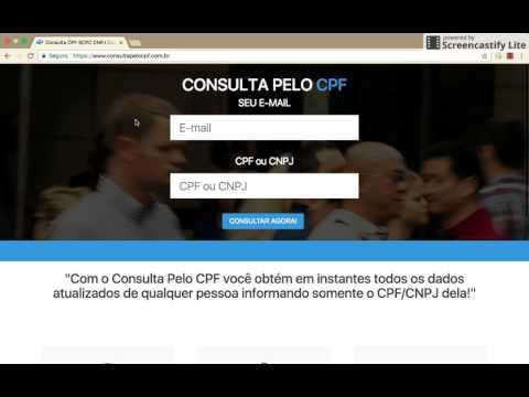 Como Fazer a Consulta Pelo CNPJ